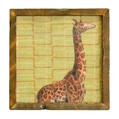 """Giraffe Print, 32"""" X 32"""""""