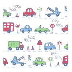 Beep Beep Blue Cars Wallpaper, Bolt