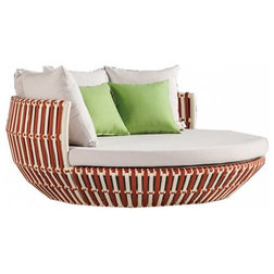 Tropical Outdoor Lounge Chairs by Babmar® Modern Outdoor Furniture