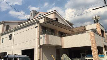 大阪市平野区 新築塗装工事 完工