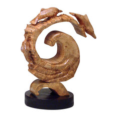 """""""The Wave"""" Handcrafted Sculpture"""