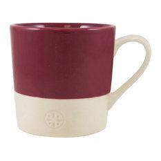 English Tableware Co. Artisan Mug, Raspberry