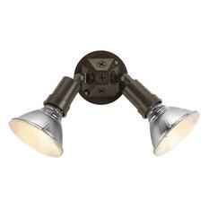 Progress Lighting P5212-20 2-Light Swivel Non-Metallic Shadeless Flood Light