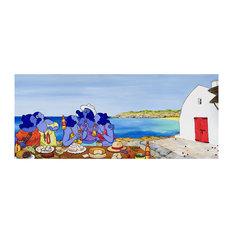 """Sant Joan Feast"" Art Print, 124x60 cm"