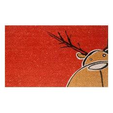 Christmas Moose Doormat