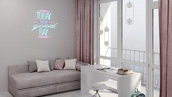 Интерьер квартиры в стиле hi-tec