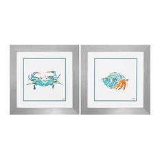 Sea Creatures (Set of 2) - 2126