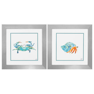 Sea Creatures (Set of 2) - 2126