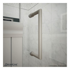 "DreamLine Unidoor Plus Min 38.5""-Max 39""x72"" Hinged Shower Door"