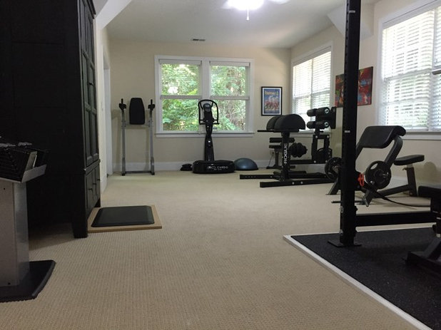 Houzz your workout home gyms that get you moving