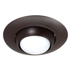 Contemporary oil rubbed bronze recessed lights top reviewed nicor lighting nicor 6 inch recessed eyeball trim oil rubbed bronze recessed mozeypictures Image collections