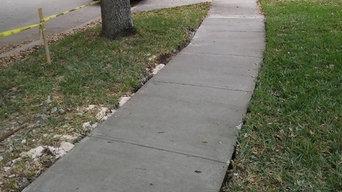 Driveway & Sidewalk