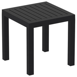 Contemporary Outdoor Side Tables by Grayburd