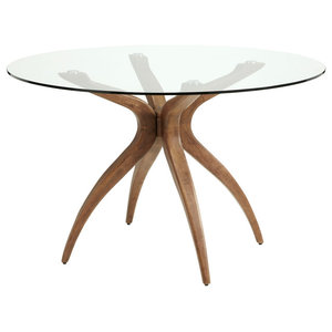 Islington Hevea Wood Dining Table, Round