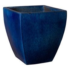 Square Planter - Blue, Large