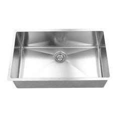 16 Gauge, Handmade Single Bowl Under-Mount Sink