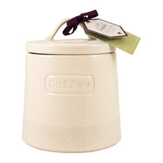 English Tableware Co. Artisan Coffee Canister, Cream