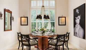 Traditional dining meets Mid-Century Modern
