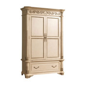 Sienna Antique White Armoire