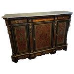 19th Century American Oak Sideboard By Rj Horner