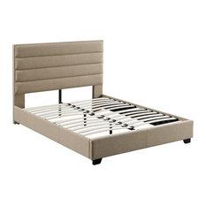 Dowling Platform Bed, Beige, King