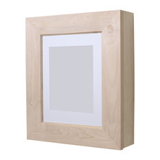 Wall-Mount Picture Perfect Medicine Cabinet, Unfinished Flat Frame