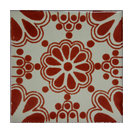 4.2x4.2 9 pcs Terracotta Bouquet Talavera Mexican Tile