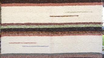 tapis en coton recyclé