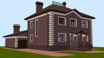 Частный жилой дом с бассейном