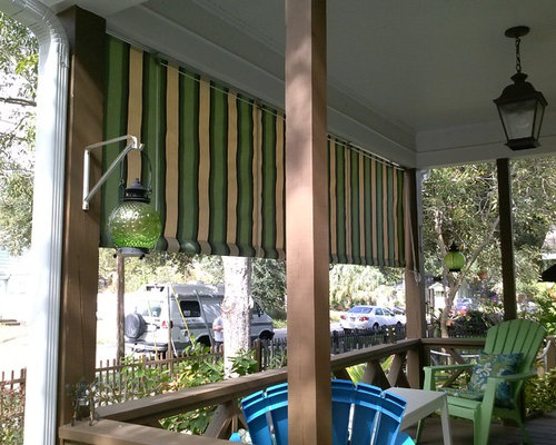 All Weather Outdoor Fabric Privacy Screens And Roll Curtains