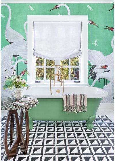 Фьюжн Ванная комната by Maison MxM