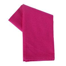 Dunroven House, Inc. - Tea Towel Plain Weave Solid Color, Pink - Dish Towels