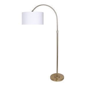 30 Quot Modern Brushed Nickel Table Lamp Set Transitional Lamp Sets By Grandview Gallery