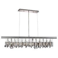 Elegant Chorus Line 13-Light Chrome Chandelier