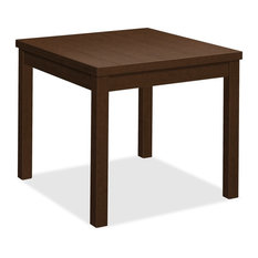 HON Laminate Occasional Corner Table 24-inchx20-inchx24-inch