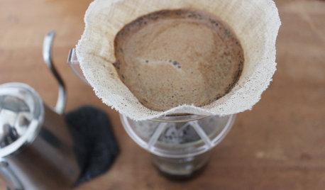 ごみゼロ生活DIY:リネンのコーヒーフィルター