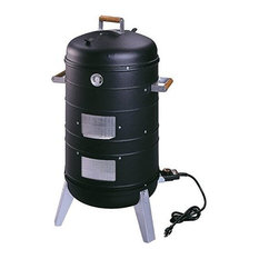 Smokers 2 in 1 Electric Water Smoker That Converts into a Lock 'N Go Grill