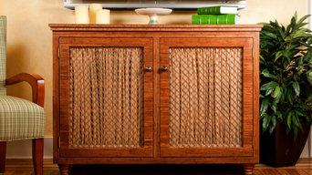 Custom Bamboo Cabinet