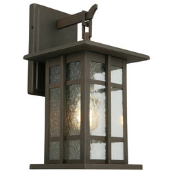 Craftsman Outdoor Wall Lights And Sconces by Hansen Wholesale