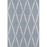 "Erin Gates by Momeni River Beacon Indoor/Outdoor Hand Woven Rug, Denim, 5'x7'6"""
