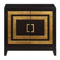 Homefare Jillian Chest Black Accent Chests And Cabinets