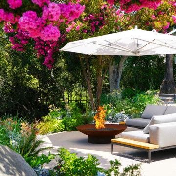 Backyard Hillside Drought-tolerant Design