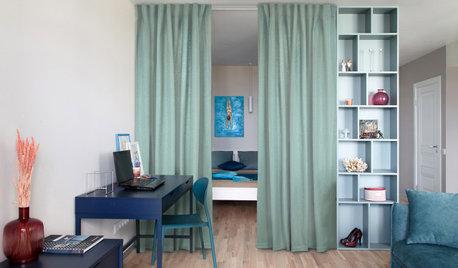 Houzz Беларусь: Квартира со шкафом, функциональным с трех сторон