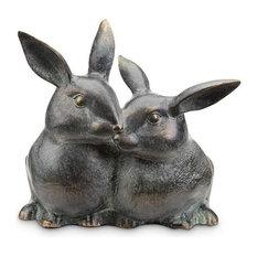 Snuggling Bunnies Key Box