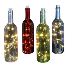 Bottle With LED Lights, Red