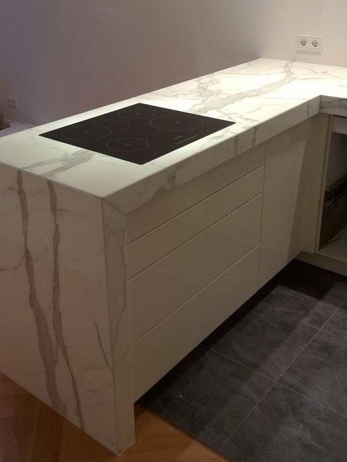 Küche aus Statuario Marmor | {Marmorplatte küche 26}
