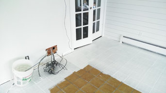 painting epoxy floor