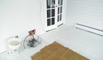 painting epoxy floor