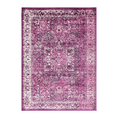 """Traditional BHS-0052307 Turkish Poly Purple Classic Accent Rug 