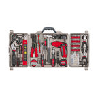 Apollo Tools 161 Piece Household Tool Kit with 4.8 Volt Screwdriver